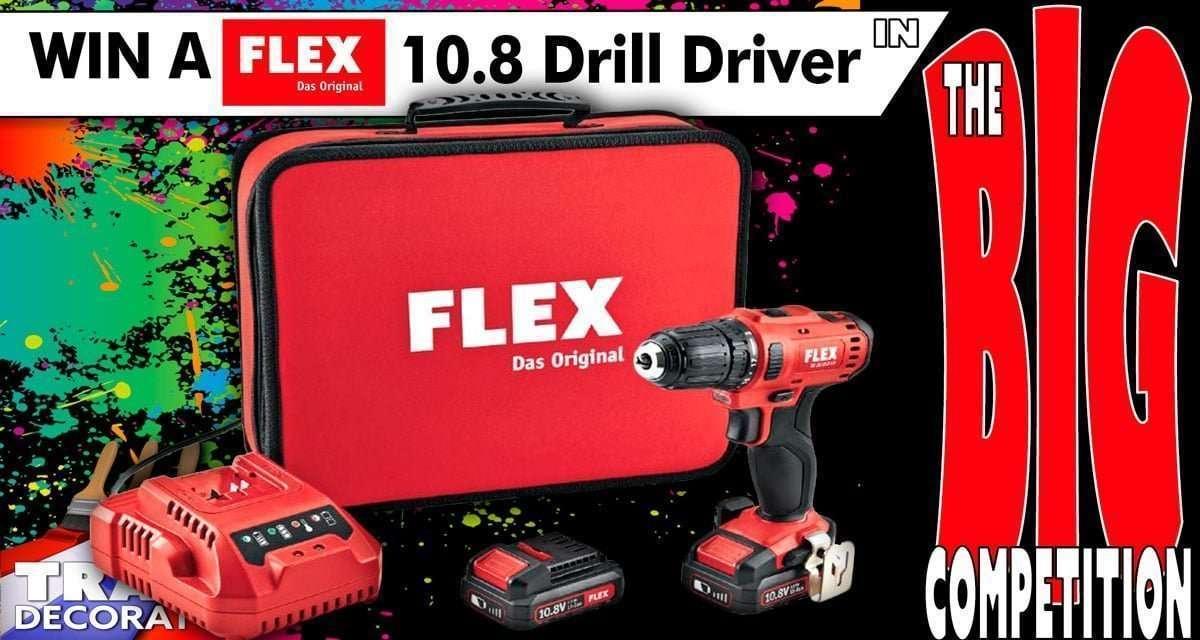 Win a FLEX TOOLS 10 8v cordless drill driver - June 2019 - Trade